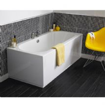 Round Double Ended Bath and Panel option